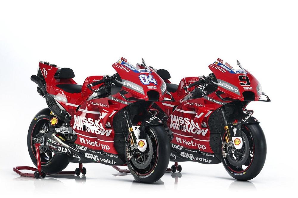 Ducati เปิดตัวรถแข่ง MotoGP 2019