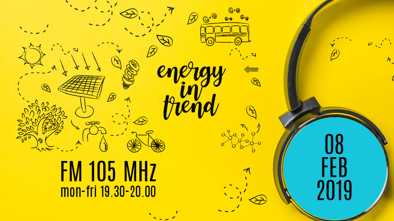 ENERGY IN TREND - FM 105 - 08.02.2019