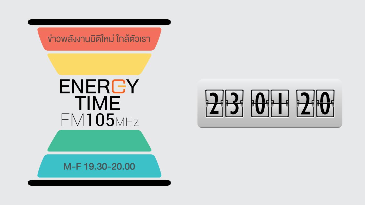 ENERGY TIME - FM 105 - 23.01.2020