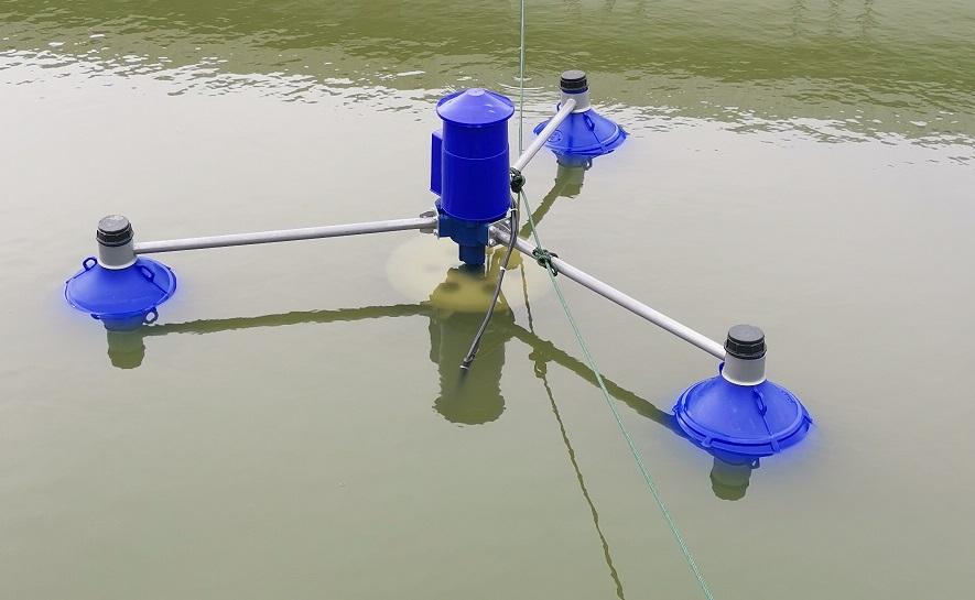 เครื่องเติมอากาศบนผิวน้ำ (Impeller Aerator)