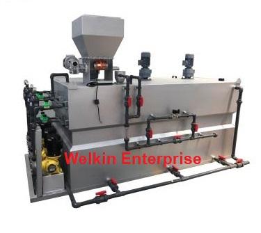 เครื่องเตรียมสารละลายโพลีเมอร์แบบอัตโนมัติ (Polymer Preparation Machine)