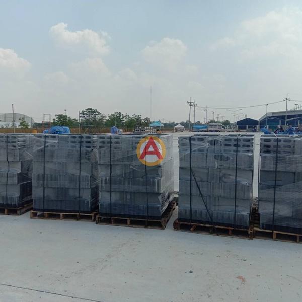 อิฐบล็อก มอก. 7 ซม Thai Beverage Logistic จ.นครราชสีมา