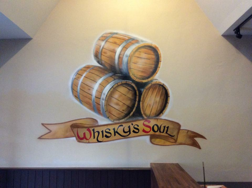 Whisky's Soul (Nich Beerville) Graffiti