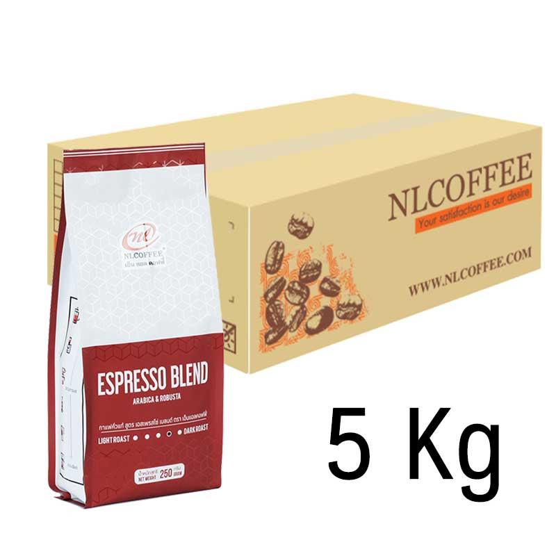 เอสเพรสโซ่ เบลนด์ Espresso Blend (5Kg)