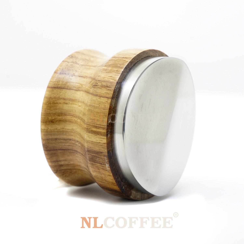 ตัวเกลี่ยผงกาแฟ แบบ 1ครีบ ด้ามจับไม้