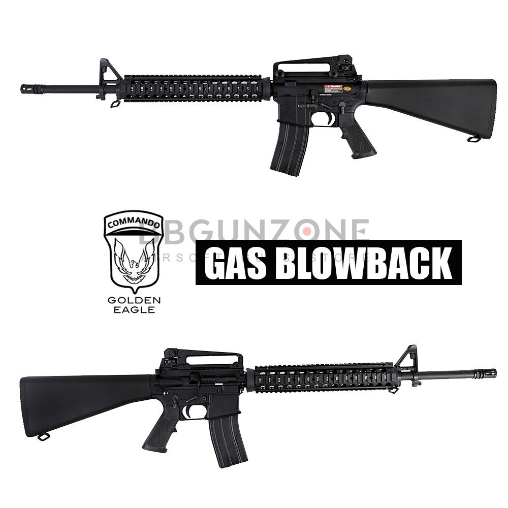 Golden Eagle M16A4 RIS GBB MC6620M METAL BODY