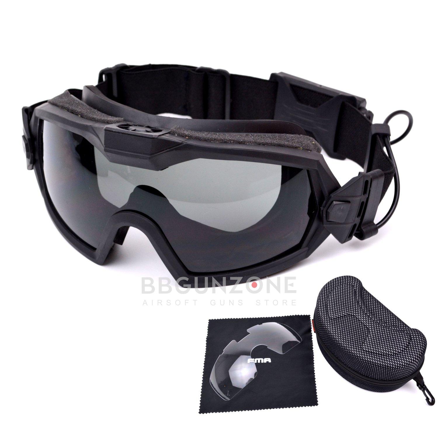 FMA แว่น Pro Goggle มีพัดลม