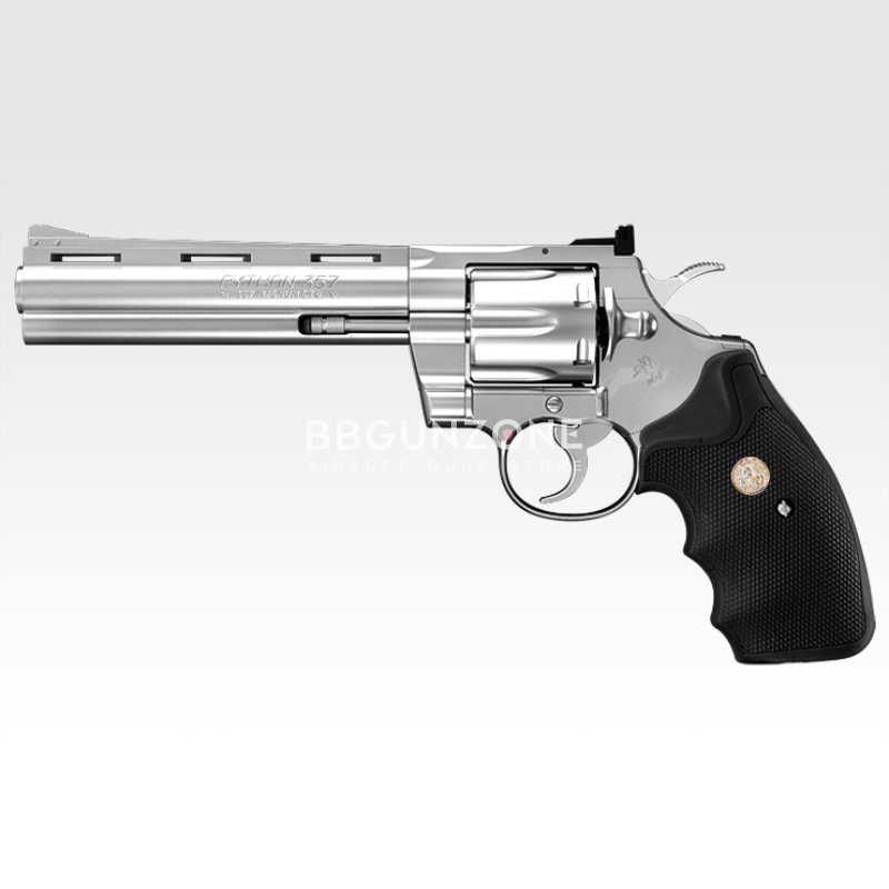 Tokyo Marui Colt Python.357 Magnum stainless steel model 6 inches