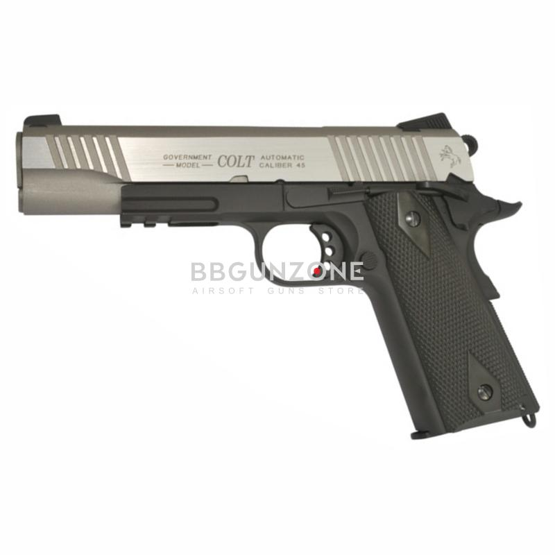 Cybergun Colt Rail Gun Bicolore Co2