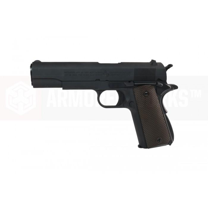 Cybergun M1911A1 ร่องลึก Black Co2