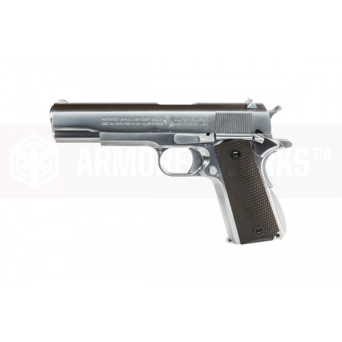 Cybergun M1911A1 ร่องลึก Silver Co2