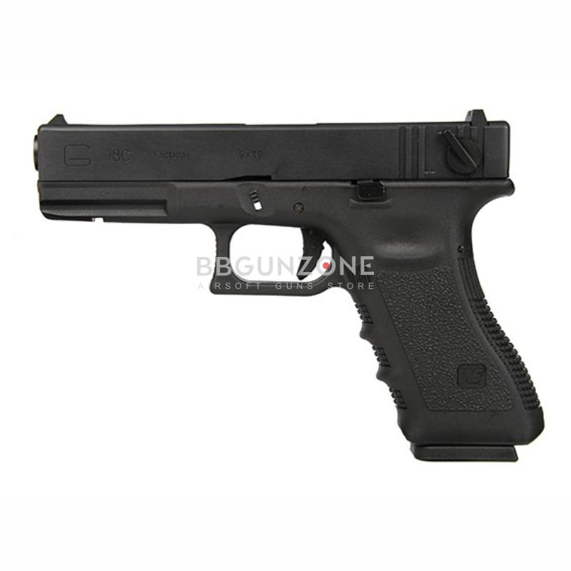 WE G18C Glock 18C  GEN3  Full Auto Black