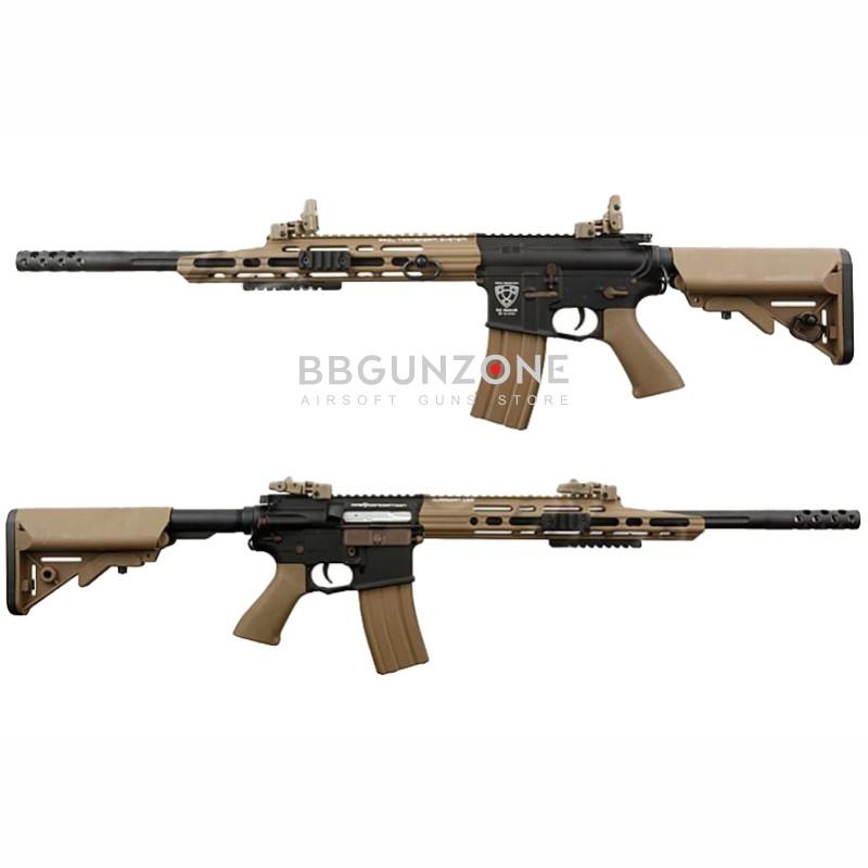 A.P.S. ASR 110 Advance Special Rifle Blow Back Tan