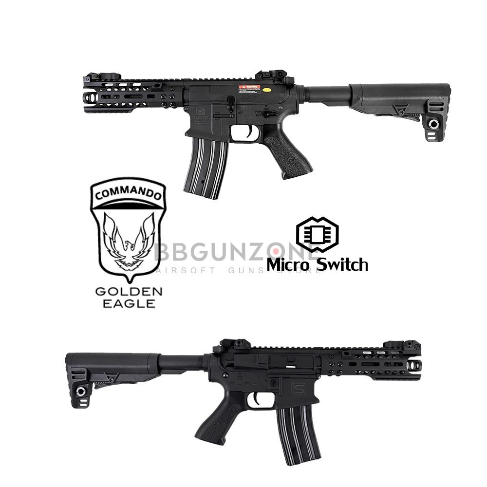 """Golden Eagle M4 Sai MOTs 7"""" E6597 Polymer Body (Micro Swicth)"""