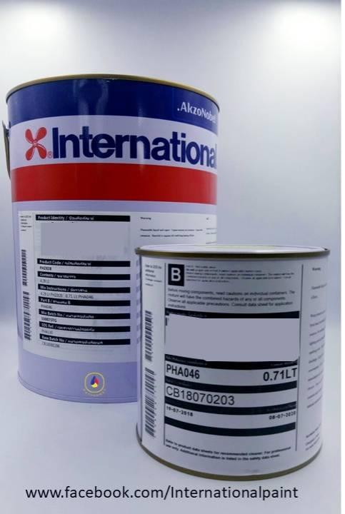 สีอินเตอร์เนชั่นแนล Interseal 670 HS Grey/white 5 Lite