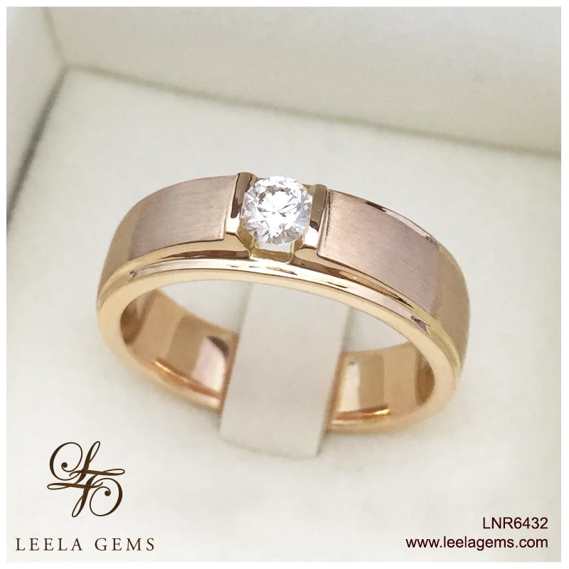 Man's Ring in 18K Rose Gold