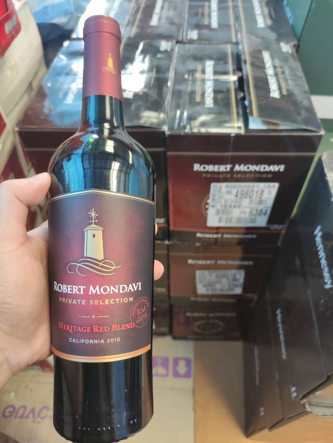 Robert Mondavi Heritage Red Blend