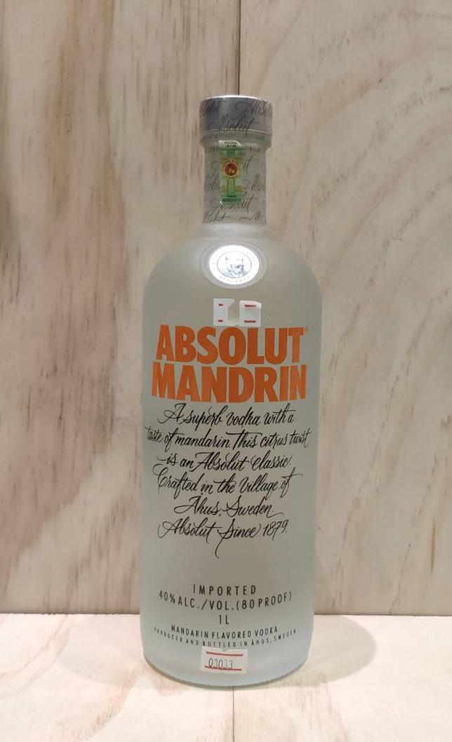 Absolut Mandrin 1 Liter