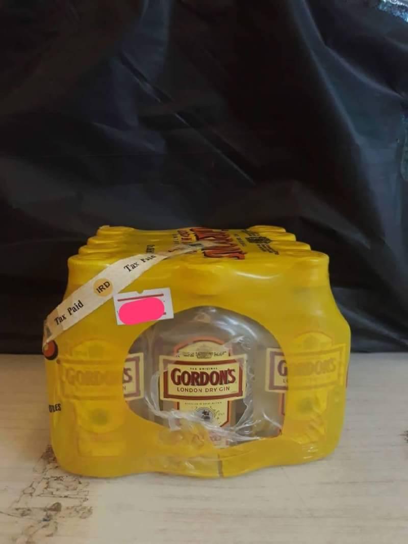 Gordon Gin 5cl x12 ขวด