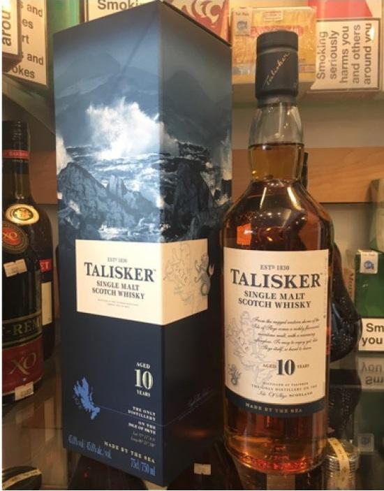 Talisker 10 Year Old 70cl (45.8%)
