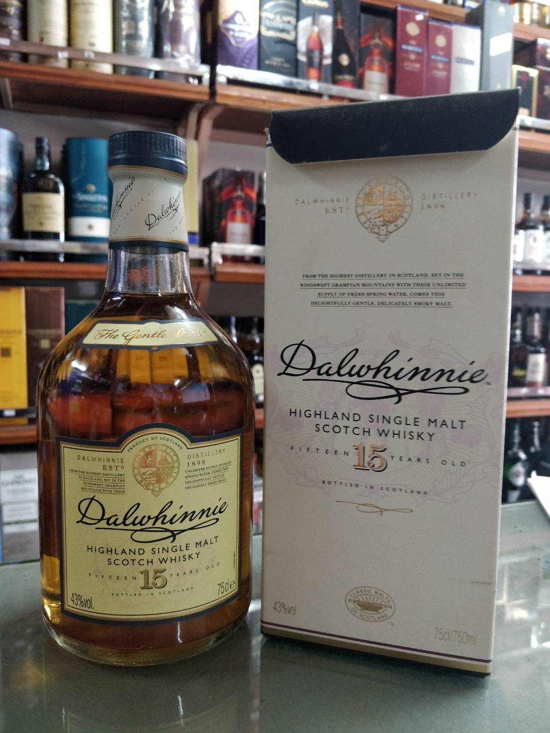 Dalwhinnie 15 Year Old 75cl