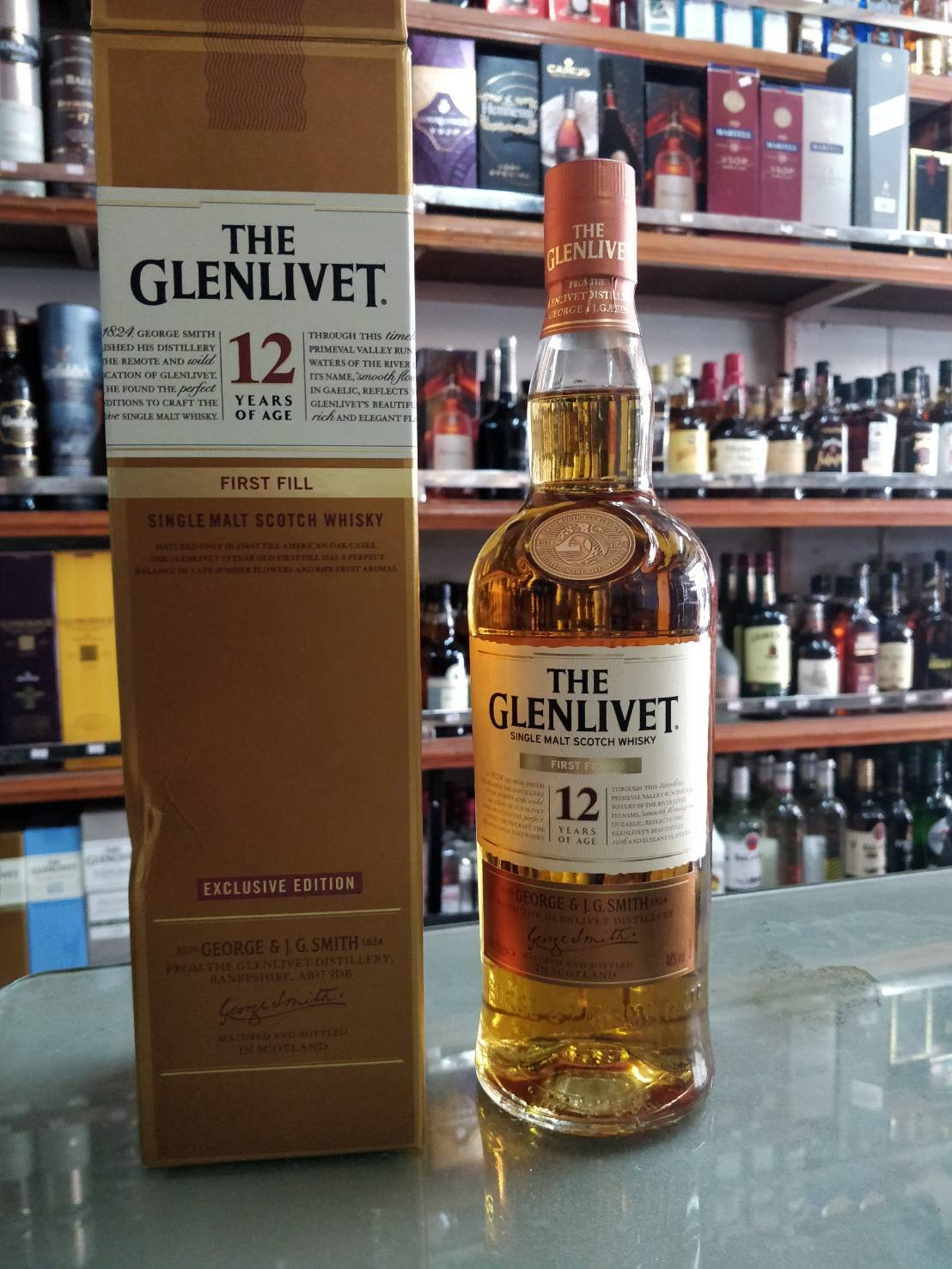 Glenlivet 12Y First Fill 700ml
