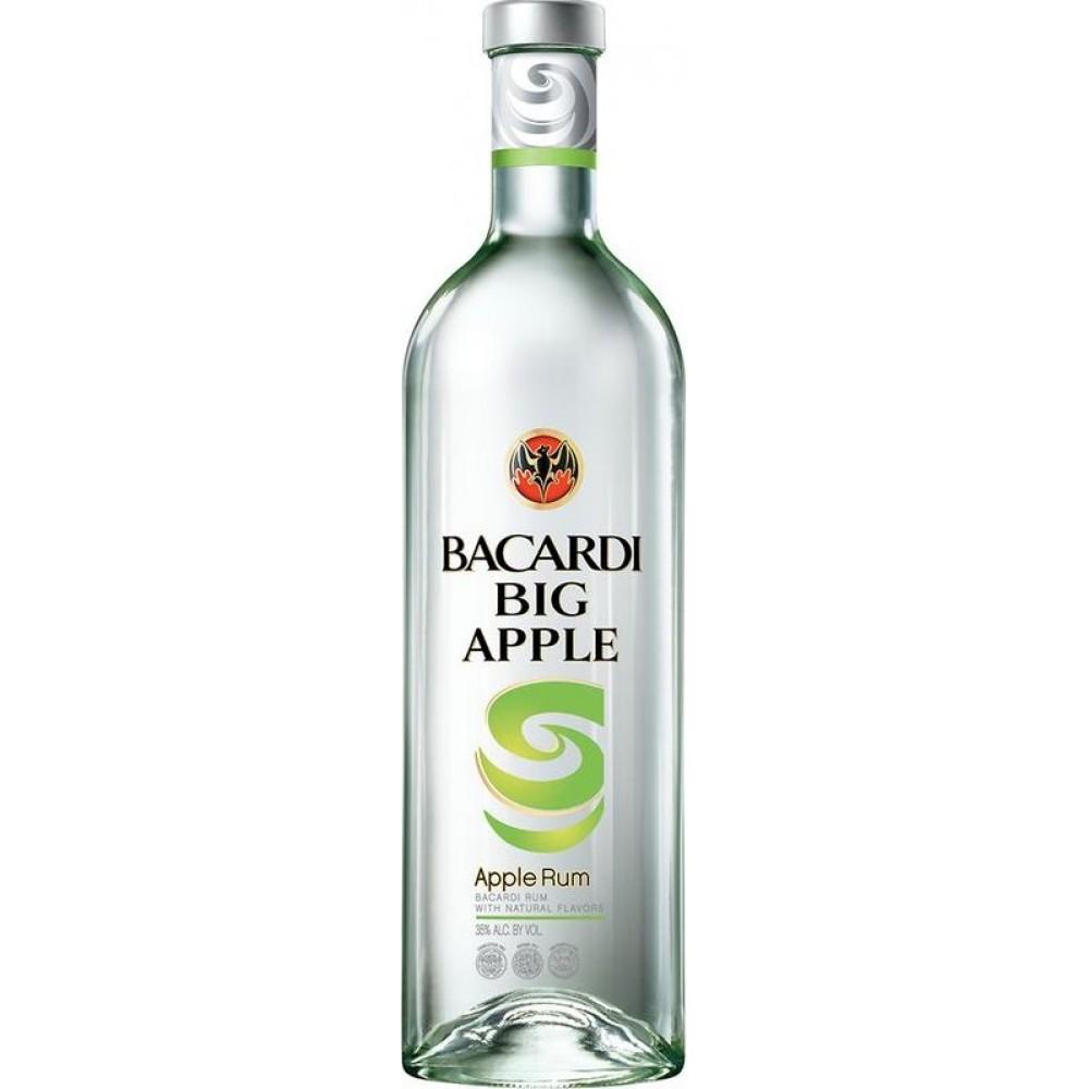 Bacardi Big Apple Rum 1L