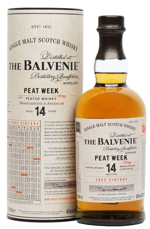 Balvenie 14y Peated Week 70cl
