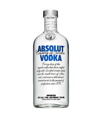 Absolut Vodka Orginal 75cl