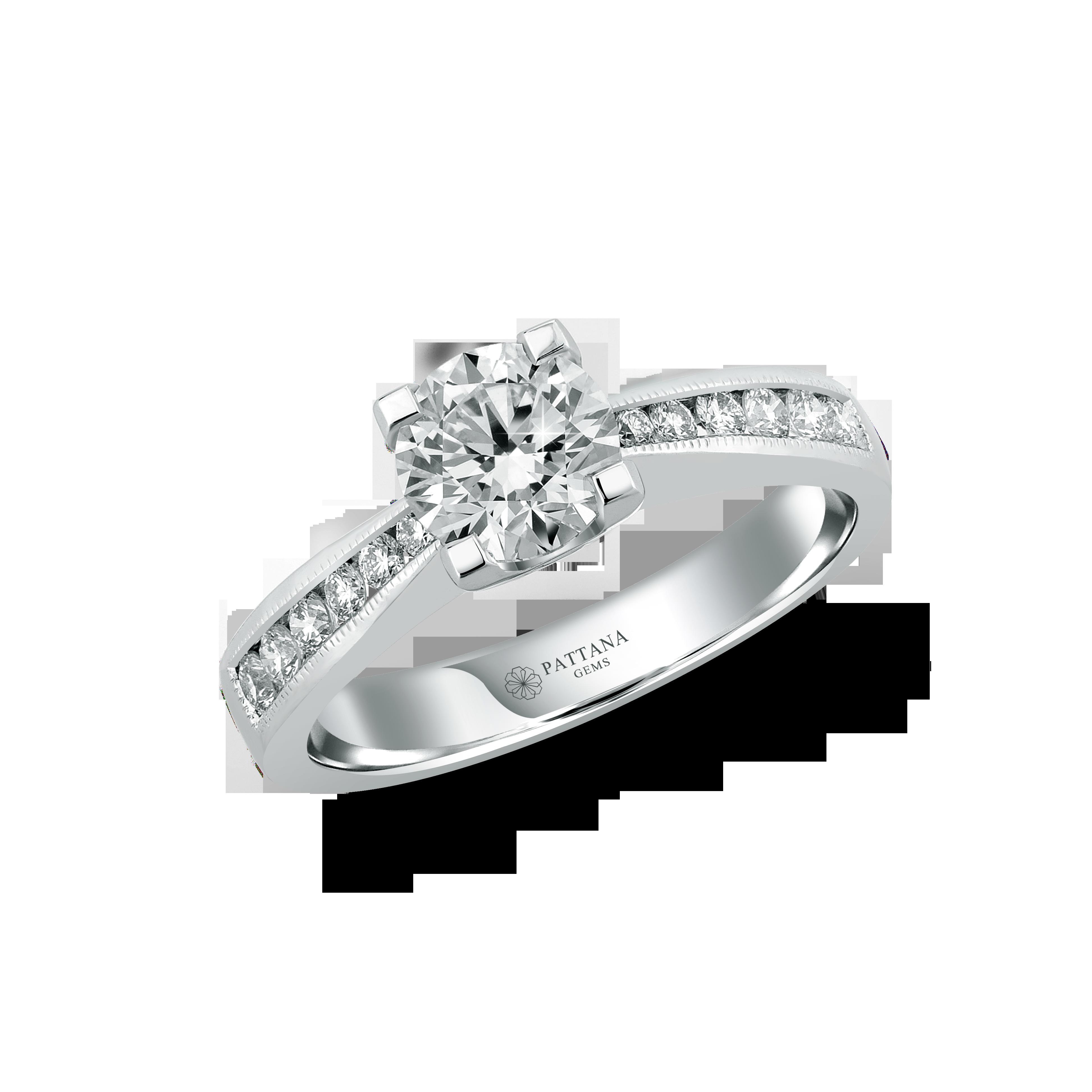 แหวนหมั้นเพชร GIA