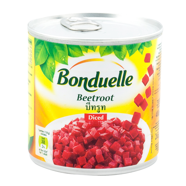 """Diced Red Beetroots 400g """"Bonduelle"""""""