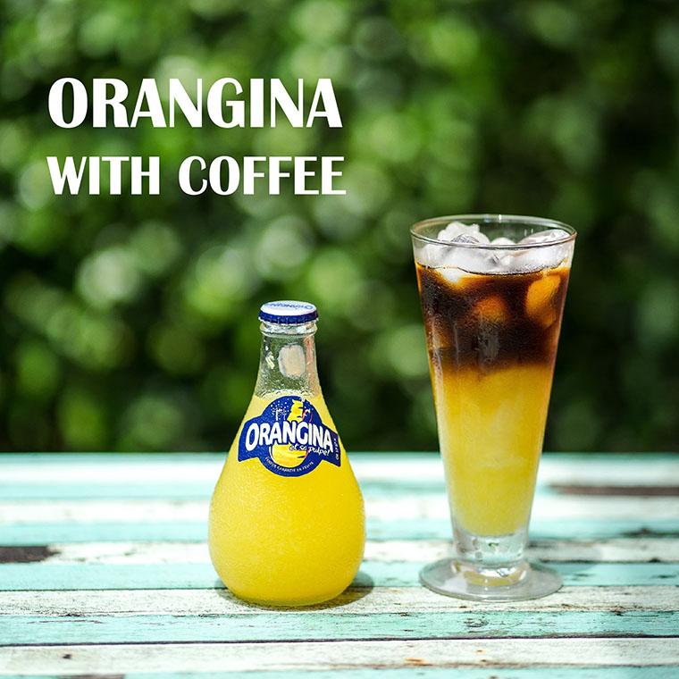 Orangina with Coffee