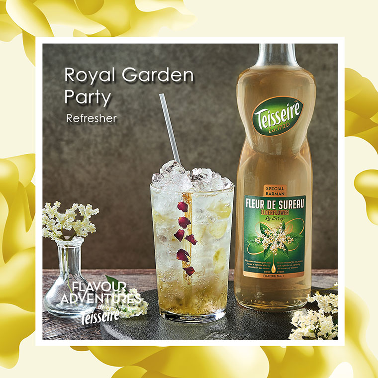 """ Royal Garden Party "" Refresher"
