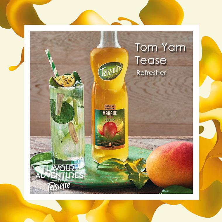 """ Tom Yam Tease "" Refresher"