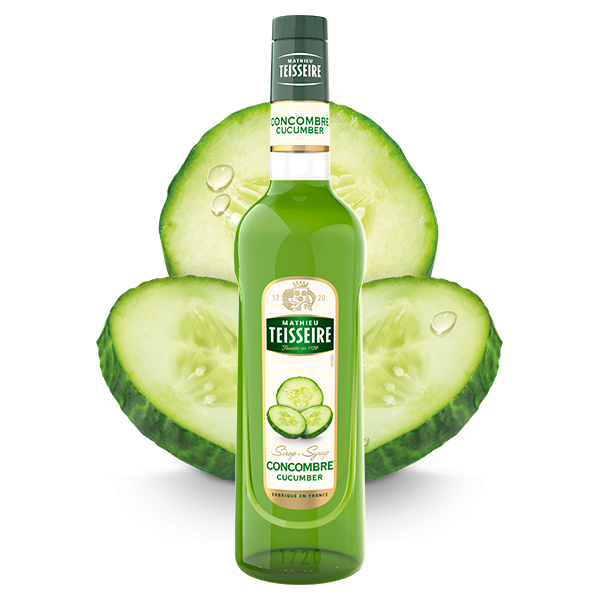 Mathieu Teisseire Cucumber syrup 70 cl / ไซรัป แมททิว เตสแซร์ กลิ่นแตงกวา