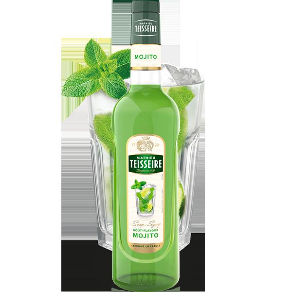 Mathieu Teisseire Mojito syrup 70 cl / ไซรัป แมททิวเตสแซร์ กลิ่นโมจิโต้