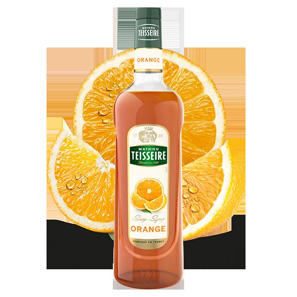 Mathieu Teisseire Orange syrup 100 cl / ไซรัป แมททิวเตสแซร์ กลิ่นส้ม