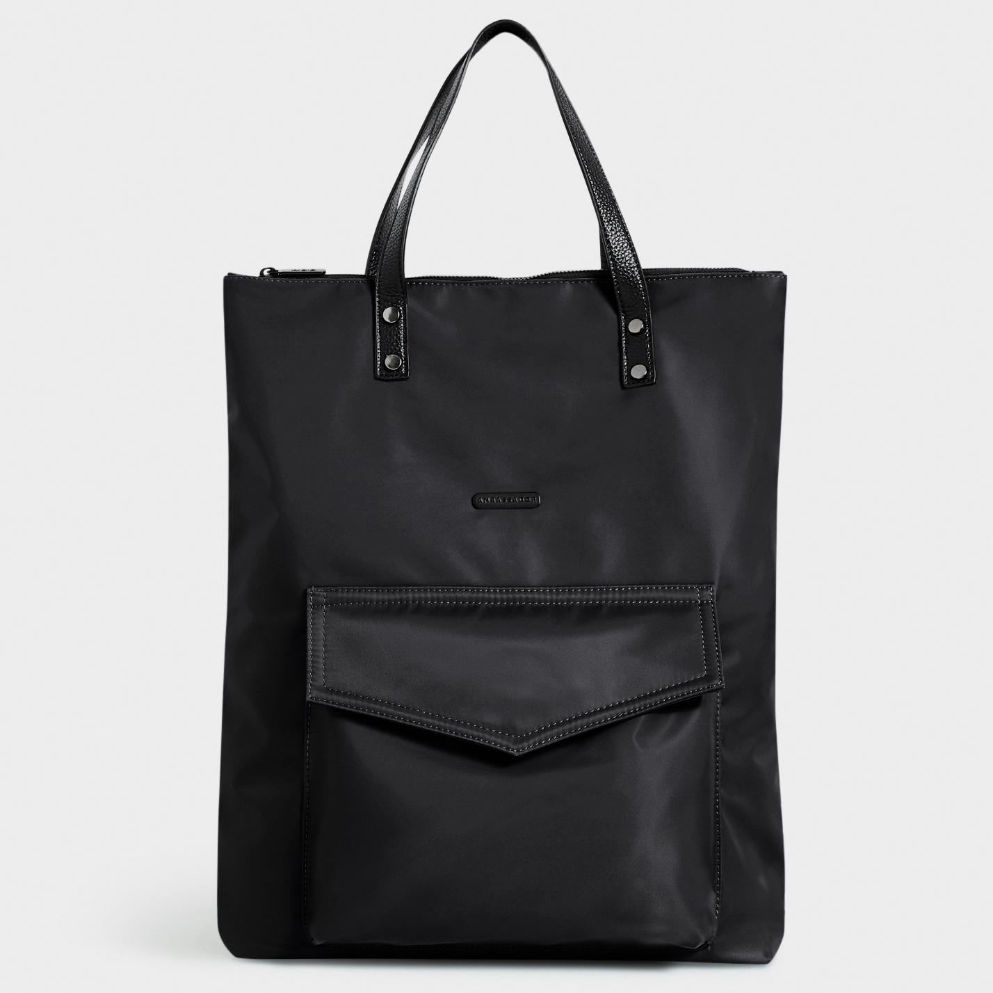 WEEKEND TOTE BAG : Black