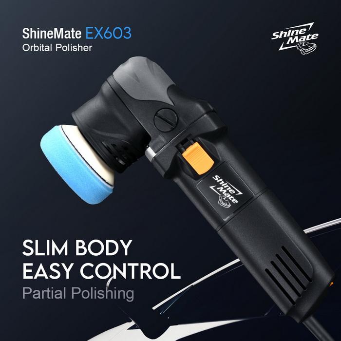 EX603 Shine Mate Dual Action Polisher 3 inck backing plate