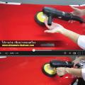 วิธีการใช้งานเครื่องขัดสีรถระบบโรตารี