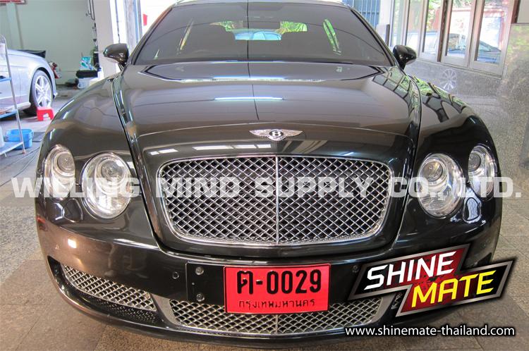 ขัดปรับสภาพสีรถ เคลือบแก้ว Bentley Continental GT