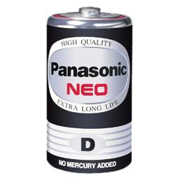 ถ่าน D ดำ Panasonic (1กล่องมี 24 ก้อน)