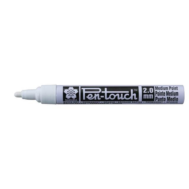 ปากกาเพ้นท์ 2 มม. ขาวซากุระ XPMK-B42500