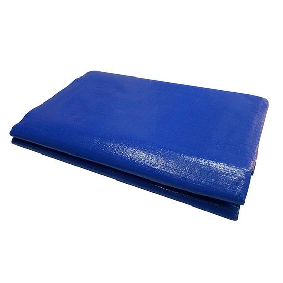 ผ้าใบ ขนาด 8x15m. ซูเปอร์ สีน้ำเงิน