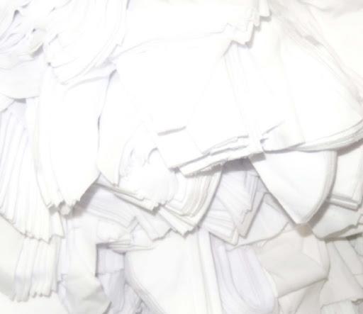 เศษผ้าขาวล้วน (เศษเล็ก)