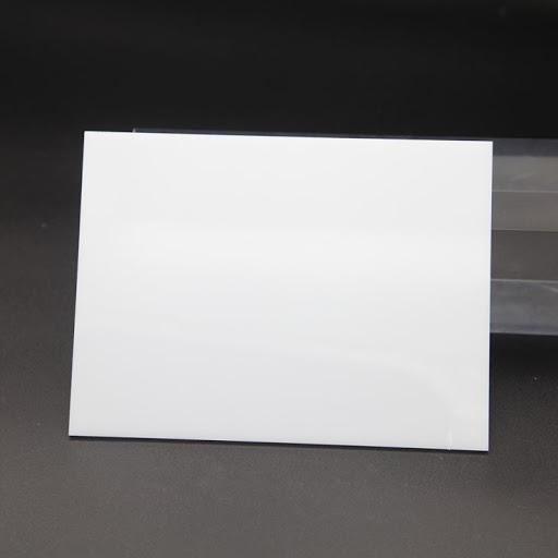 แผ่นอะคริลิค สีขาว M433 ขนาด 54 x 269 x หนา 6mm.