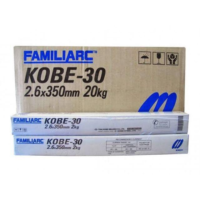 ลวดเชื่อมไฟฟ้า KOBE-30 2.6 mm.x350 mm.