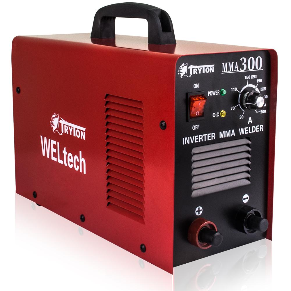 TRYTON ตู้เชื่อมไฟฟ้า300A ระบบอินเวอร์เตอร์ MMA-300 DC(N)