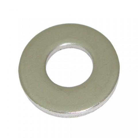 แหวนอีแปะชุบขาว M24 (หนา2 มม ขอบ 44)