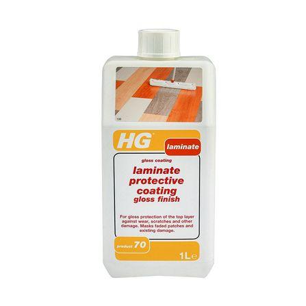 น้ำยาเคลือบเงาพื้นลามิเนต 1L HG
